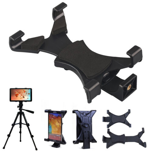 Tripod Mount Holder Bracket 1//4/'/' Thread Adapter for 7/'/'~10/'/' Tablet iPad iPhone