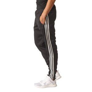 adidas Damen 34 Trainingshose Easy Woven schwarzweiß