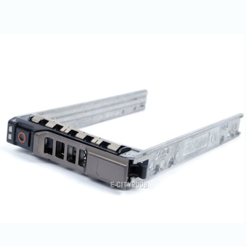 "2.5/"" Hot-Swap Sata SAS Hard Drive Caddy Tray For Dell PowerEdge T420 Server New"
