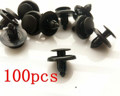 100pcs Fender Liner Clip Hood Bumper Retainer For Auveco For Toyota 9046707166