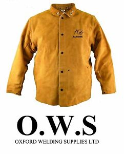 Parweld Panther Leather Welders Jacket Protective Clothing welding P3788
