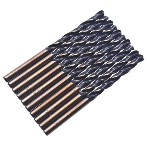 4.2 mm Dia 75 mm longueur Haute Vitesse Acier Straight Shank Twist Drill Bit De Forage Outil 10pcs