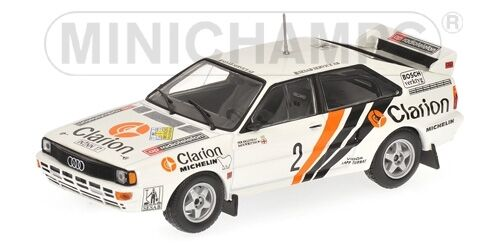 Audi Quattro Rally Eklund Swedish Rally 1984 1 43 Model MINICHAMPS