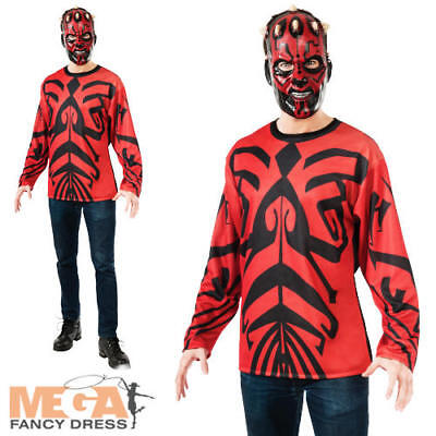Darth Maul Costume Adult Star Wars Halloween Fancy Dress