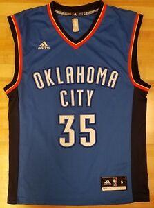 f1c4a54195a87 NBA Oklahoma City Thunder Jersey Adidas Kevin Durant #35 Small size ...