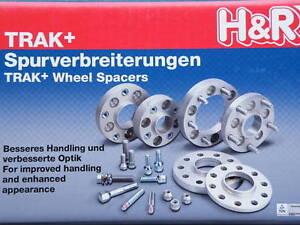 H/&R DRA Spurverbreiterung 40//60mm Set Audi A3 Distanzscheiben Typ 8L
