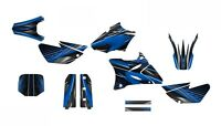 Yz85 Graphics 2002 - 2014 Dirt Bike Deco Kit 3333 Blue Free Custom Service