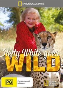 Betty-White-Goes-Wild-DVD-NEW-SEALED-Region-4-National-Geographic
