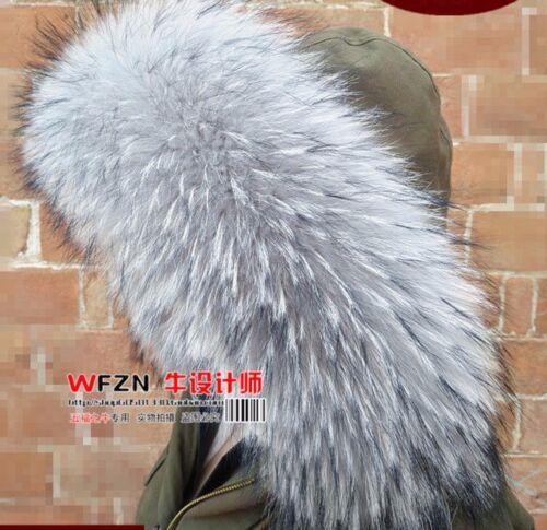 Raccoon Finn Wrap Stole Collar Shawl Fur Nyctereutes Genuine Procyon Scarf q6wTnPt