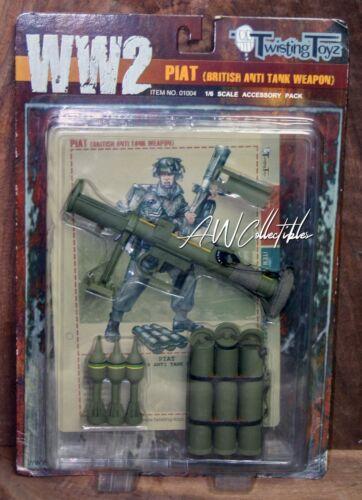 01004 Piat British Anti Tank Weapon Late WW2 1//6 Scale Twisting Toyz Item NO