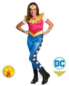 RD-Girls-Costume-Fancy-Licensed-DC-Comics-Wonder-Woman-Super-Hero-3006D-3105