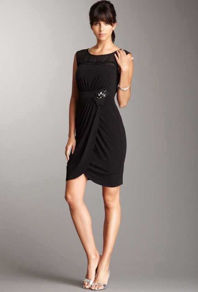 NWT Max And Cleo Max&Cleo Gown Cocktail Dress Größe 12 NEW