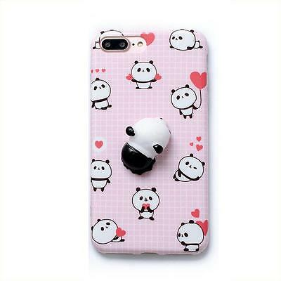 Squishy 3D Soft Stress Ball Silicone TPU Case iPhone 5/6/6 Plus/7/7 Plus