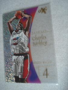 CHARLES-BARKLEY-98-99-Fleer-EX2001-17-HOUSTON-ROCKETS
