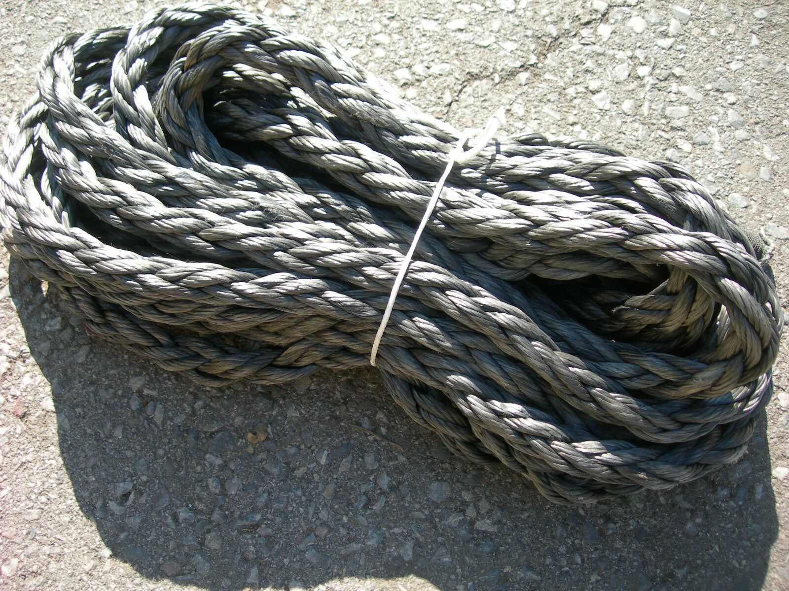DYNEEMA ROPE 22mm TOW ROPE WINCH ROPE 4X4 RECOVERY 16 METRES (L,J2)