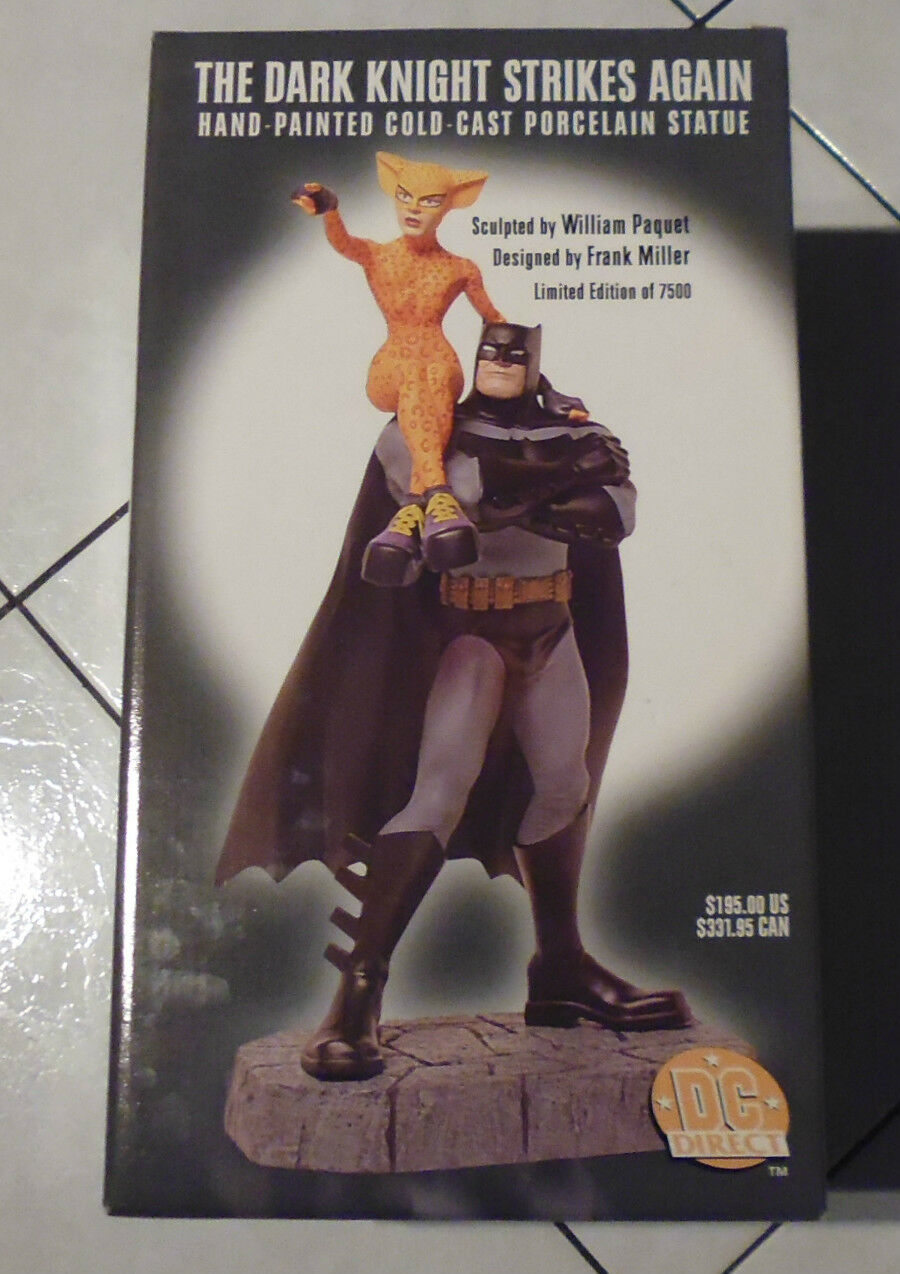 DC Direct DK2 Statue Batman Dark Knight Strikes Again Frank Mille
