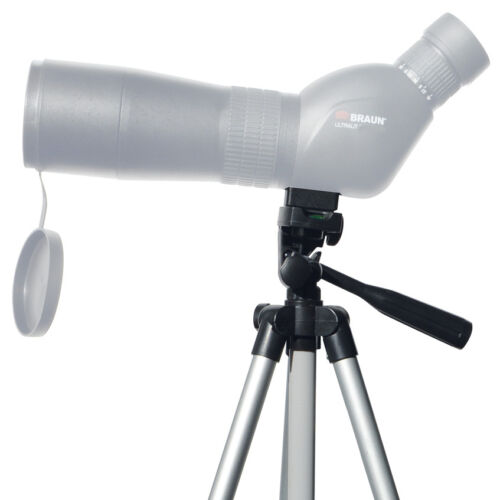 bolso etc. Braun ultralit binocular 20-60 x80 con trípode cinturón de transporte ***