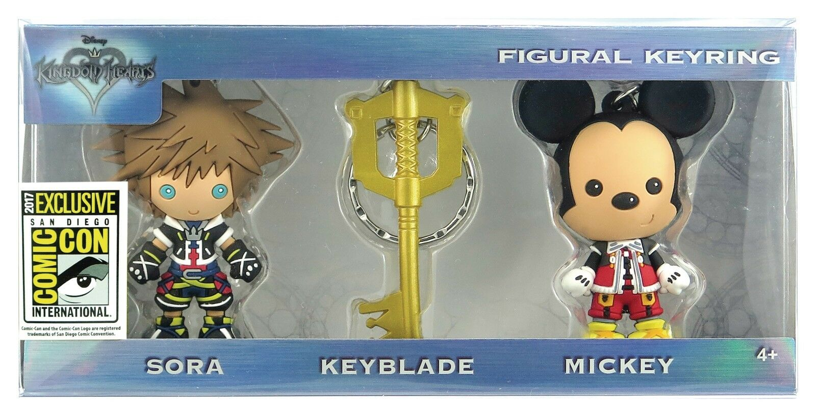 KINGDOM HEARTS 2 FIGURAL KEYRING SDCC 2017 EXCLUSIVE SAN DIEGO COMIC CON SORA