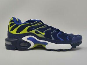 Nike Air Max Plus TN Binary Blue Yellow