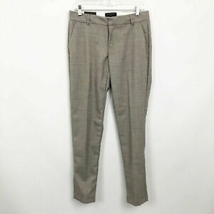 Banana-Republic-NWT-Martin-Fit-Pants-Trousers-Gray-Size-6-Wool-Skinny-Fit-80