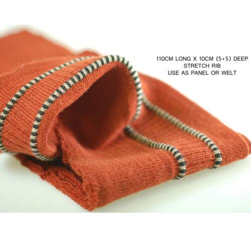 ribete de prendas Neotrim de punto elástico Costilla weltswaistbands paneles los puños de bombarderos