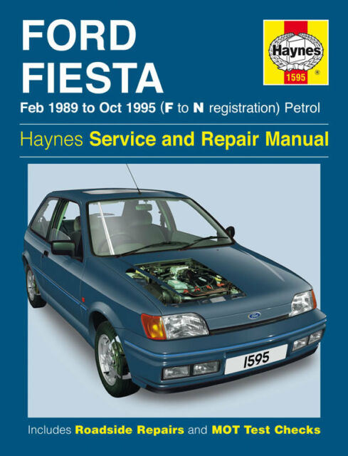 1989 EDITION FORD FIESTA OWNERS HAND BOOK