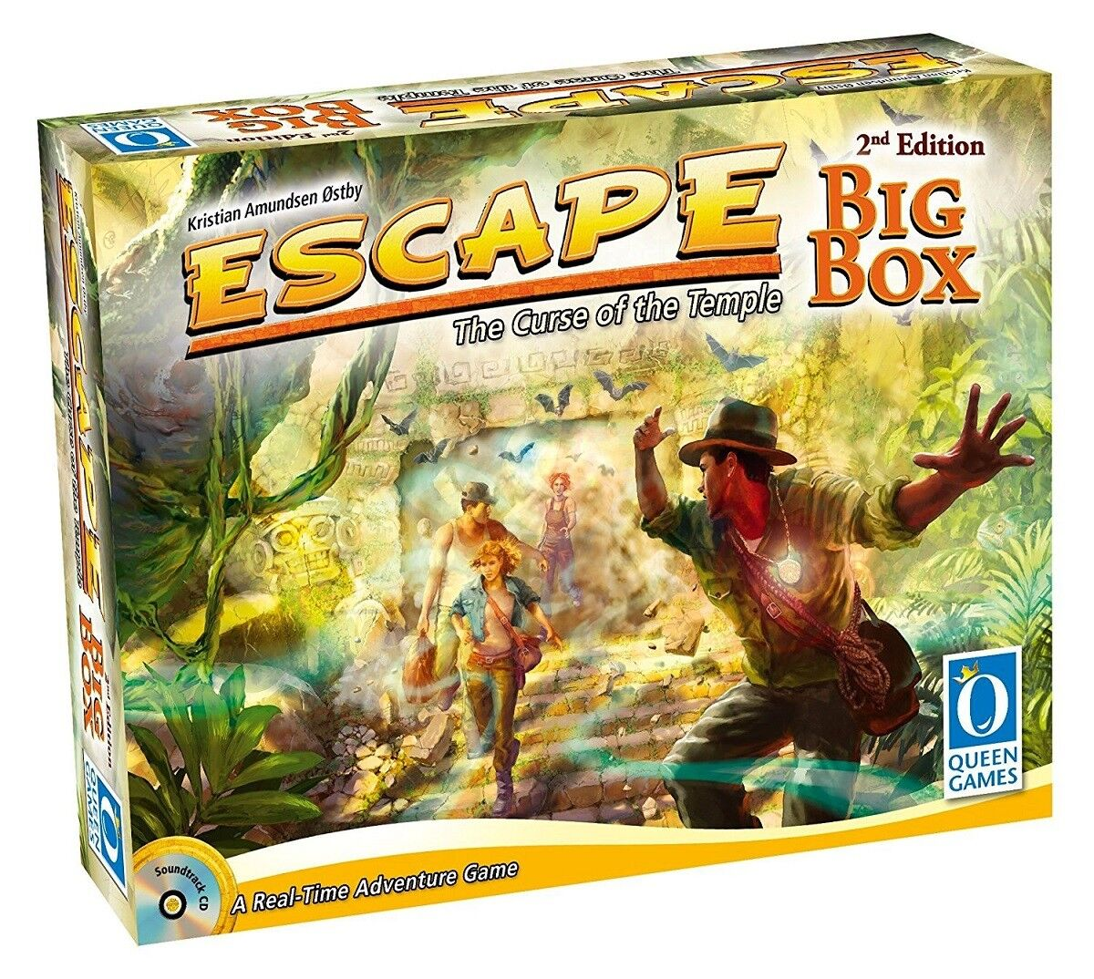 ESCAPE   DER FLUCH DES TEMPELS - BIG BOX BOX BOX 2nd Edition - Queen Games 10353 - NEU 291d82
