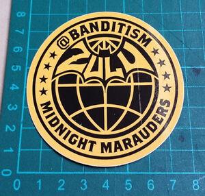 BANDIT1SM-STICKER-123-Klan-Bandit1-M-8x8cm-STREET-ART-PEGATINA-DECAL-GRAFFITI