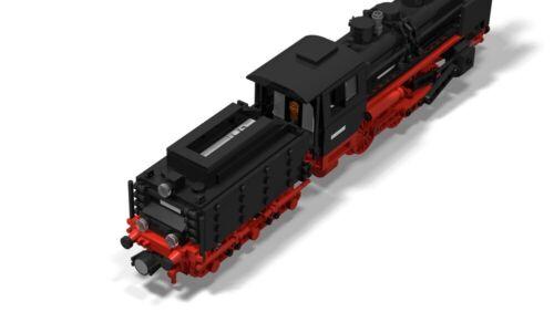 PDF-Anleitung Dampflok DR BR 24 MOC Unikat Custom zum Bau aus LEGO©-Steinen