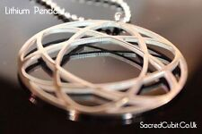 Lithium Atom Science Sacred Geometric Symbol Pendant