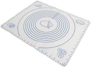 Norpro-Silicone-Pastry-Mat-Baking-Sheet-Liner-W-Measuring-Pie-Crust-Dough-New