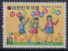 Korea-Süd 1972 ** Mi.834 Kinder Children Kindertag Children's Day [st0794]