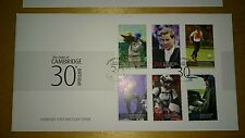 Prince William Duke of Cambridge 30th Birthday 6v Stamp Guernsey 2012 FDC