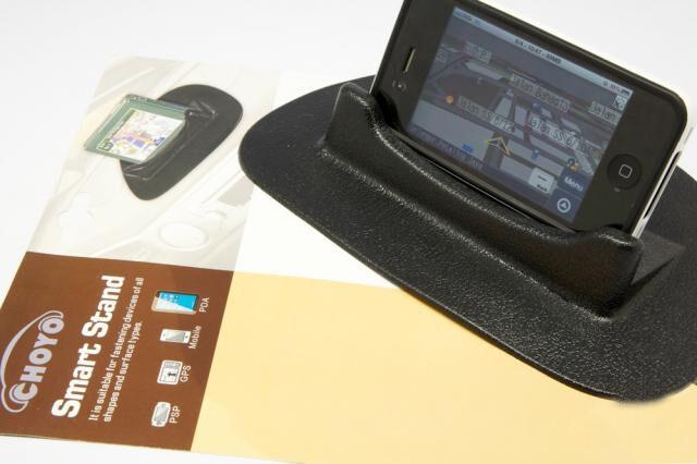 Soporte coche salpicadero Smart Stand de gel antideslizante para móvil y tablet
