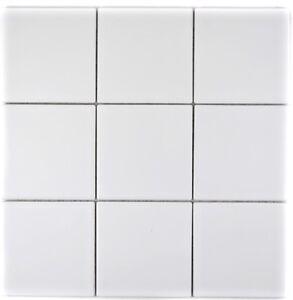 Keramikmosaik-weiss-Fliesenspiegel-Wand-Bad-Dusche-WC-Kueche-23-0111-10-Matten