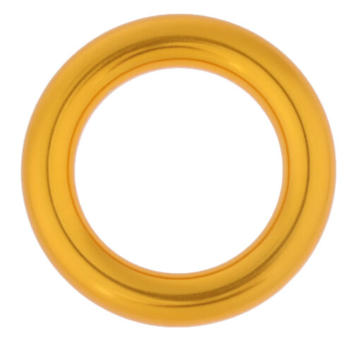 Heavy Duty 25KN Rock Climbing Rescue Rappel O Ring Bail-Out Belay Connector