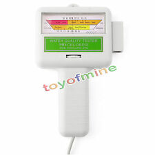 New PC-101 Electronic Swimming Pool Spa Water PH CL2 Chlorine Tester Tool