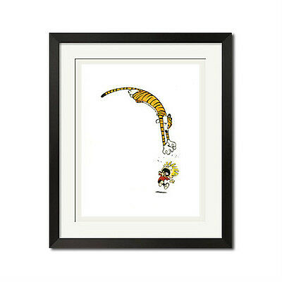 Calvin and Hobbes Gonna Catch You Poster Print