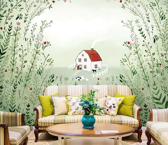 3D Painting fairy tale 0220 Wall Paper Wall Print Decal Wall Deco AJ WALLPAPER