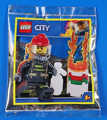 LEGO® City Limited Edition  951902 Feuerwehr Figur Finn mit brennendes Fass