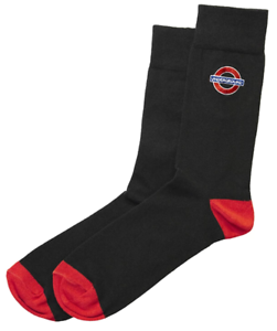 TFL ™ 6306 Mesdames Licence Underground Cocarde ™ broderie Sock Taille 4-7