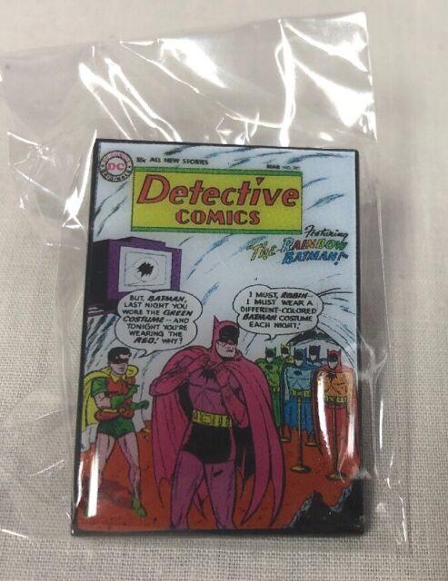 FCBD 2019 DC Comics Batman Metal Pins Detective Comics