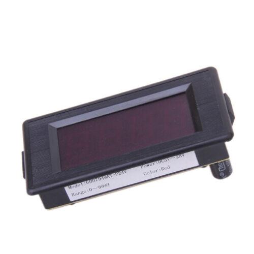Down Digitalen Zähler 4 Rote LED-Digital 0-9999 Up