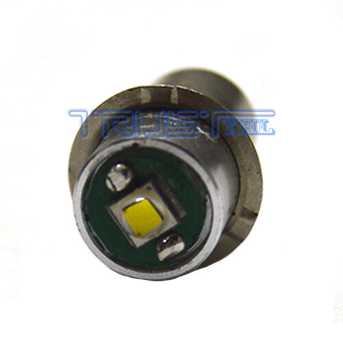 3W 5-24V P13.5S Led Flashlight Replacement bulb Torch Lantern Work Light US