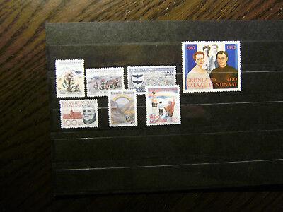 Grönland Temperamentvoll Grönland Jahrgang 1992 ** Postfrisch Briefmarken nn 975