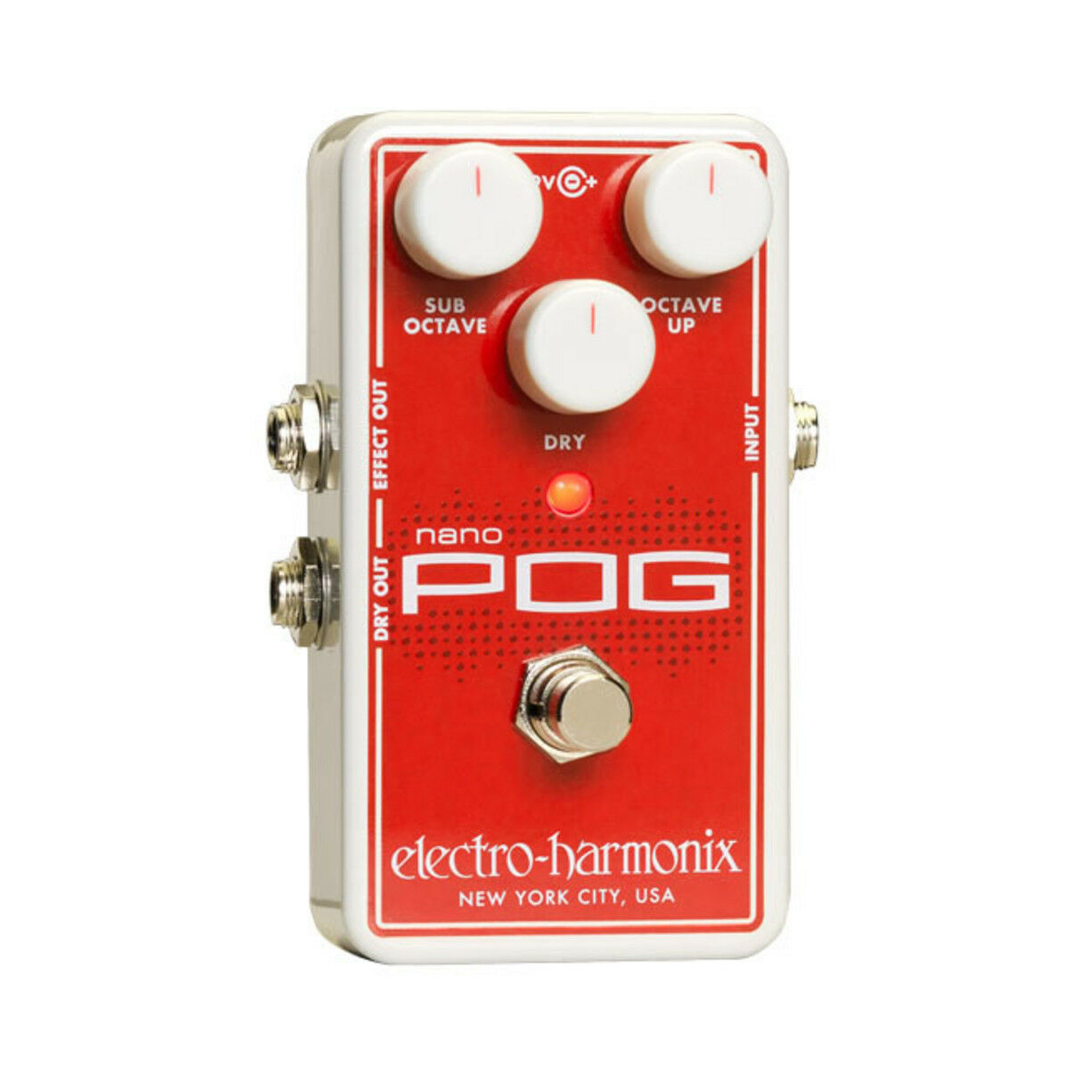 Electro Harmonix Nano POG Poly Octave Generator Guitar Effect Pedal - New Boxed