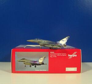 """Avoir Un Esprit De Recherche Herpa Wings 1:200 - 556859 Forces Aériennes"""" 400th Eurofighter """"typhoon Taktlwg 31-afficher Le Titre D'origine Facile à Utiliser"""