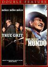 VG True Grit 2010 Hondo 1953 Double Feature 2013 DVD