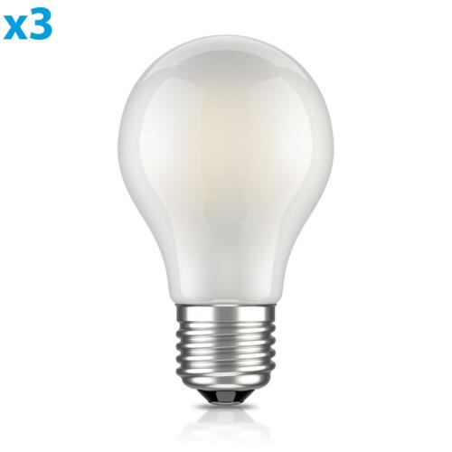 Pour Intérieur Et Extérieur, E27 DEL Ampoule Filament Mat a60 4 W = 33 W blanc chaud 360 LM Bon état