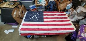shop outlet cheap Official Assassins Creed 3 III Colonial Flag ...